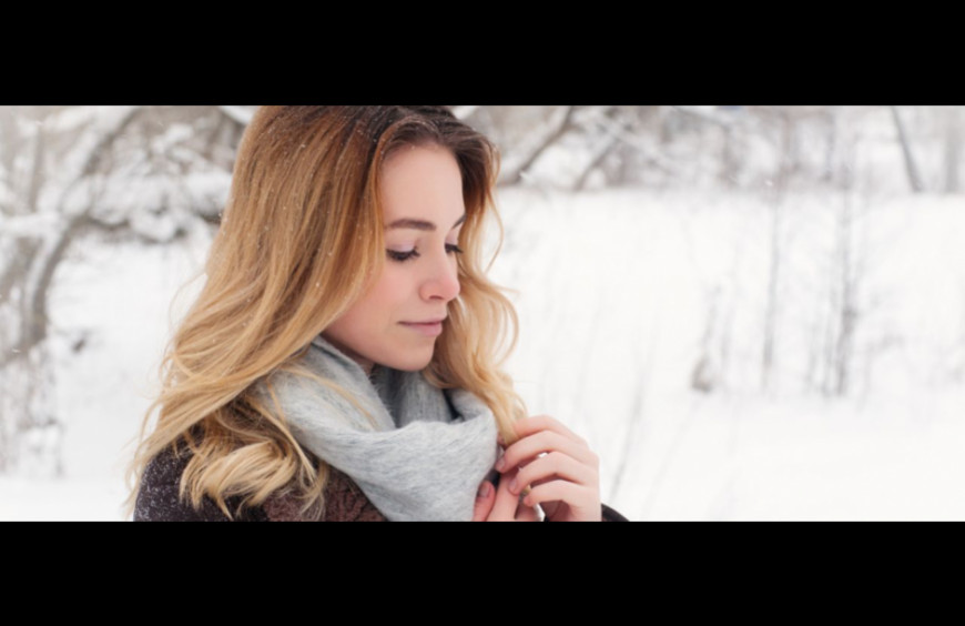 Even in winter, you have the right to have beautiful hair!